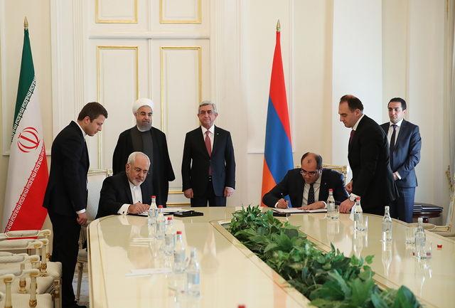 تهران و ایروان پنج سند همکاری امضا کردند/ امضای یادداشت تفاهم همکاری بین وزارت ورزش و جوانان ایران و ارمنستان