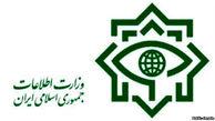 وزارت اطلاعات 10 نفر از سرویسهای اطلاعاتی برخی کشورهای منطقه را دستگیر کرد