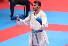 عسگری با تیم ملی کاراته در سرزمین چکمه ها