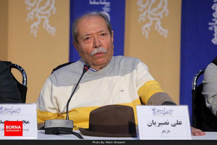 علی نصیریان: باید به عقاید افراد احترام گذاشت