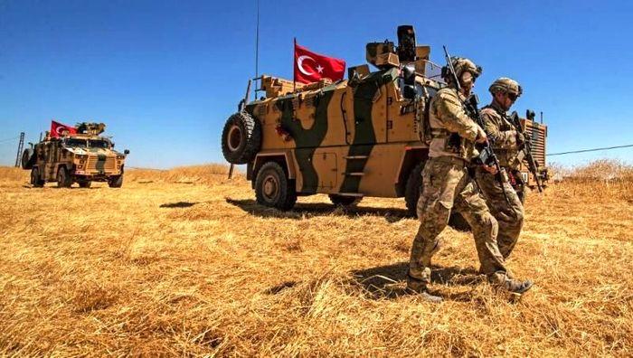 نظامیان آمریکایی هدف حملات ترکیه در شمال سوریه قرار گرفته اند