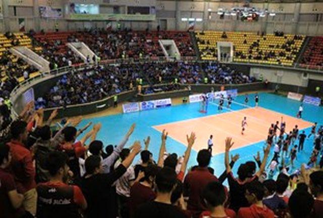 پیروزی والیبال شهرداری گنبدکاووس برابر درنا ارومیه