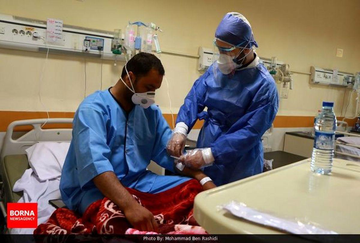 سانترکرونای بیمارستان امیرالمومنین (ع) اراکبه حالت آماده در آمد