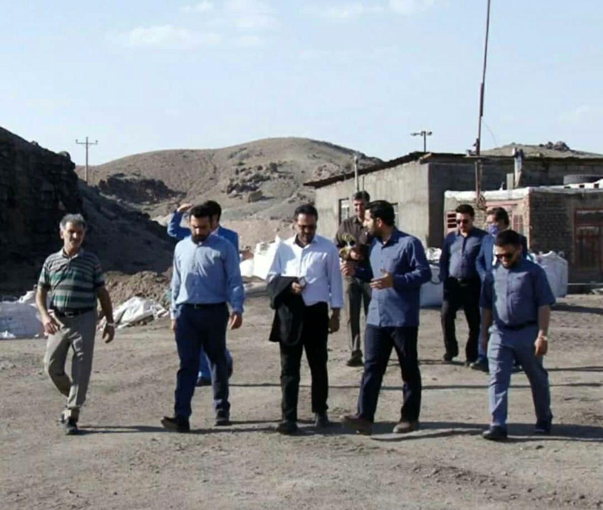 گزارشی از بررسی مشکلات معادن خراسان رضوی توسط بنیاد ملی کرامت