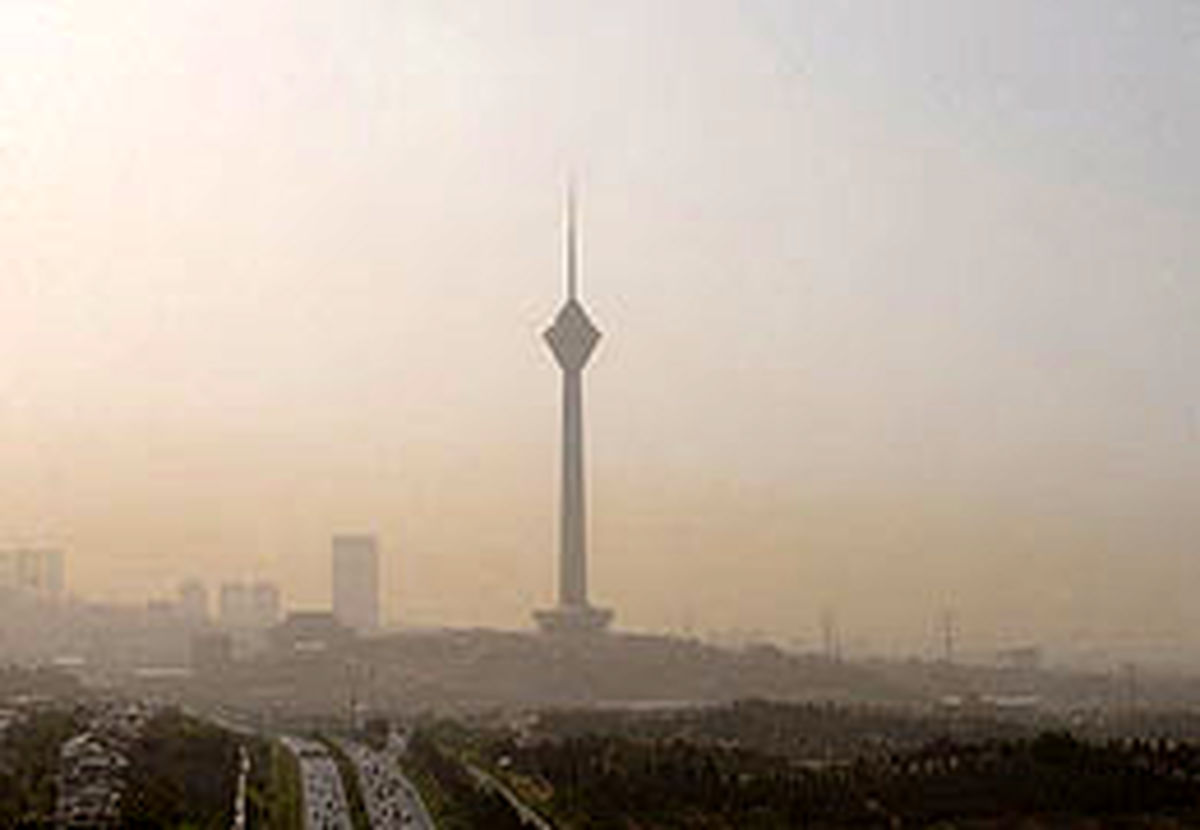 کیفیت هوا نامناسب برای  گروههای حساس جامعه
