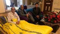 رضا ناجی روزهای پایانی شیمی درمانی را سپری میکند