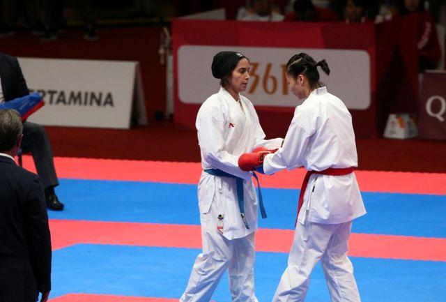 علیپور دومین طلای کاراته ایران را به نام خود ضرب کرد