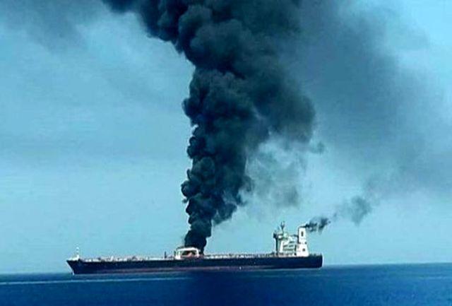 حمله به نفتکش در آستانه سفر میانجی