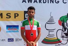 هتتریک قهرمانی پلنگ جوان دوچرخهسواری
