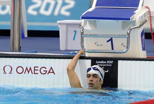 شناگر طلایی ایران، نقرهای شد