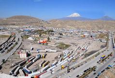کاهش ۴۰ درصدی تردد کامیون از مرز بازرگان