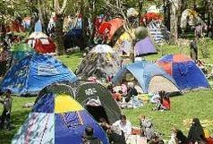 تجهیز بوستان فدک به 325 سکوی نصب چادر