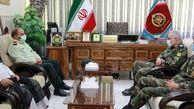 ارتش پشتوانه مقتدر پلیس در تحقق امنیت پایدار است