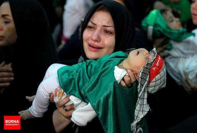 برگزاری مراسم شیرخوارگان حسینی در سراسر کشور