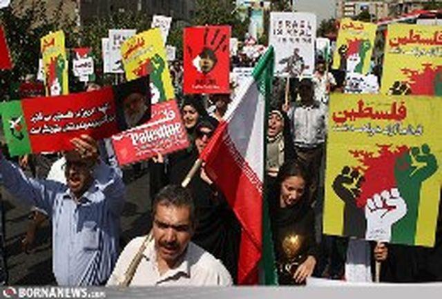 راهپیمایی روز جهانی قدس با حضور پر شکوه مردم در سراسر کشور برگزار شد