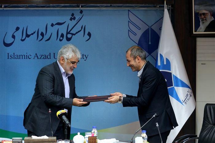 مراسم تکریم رئیس مرکز رسانه و نشر علمی دانشگاه آزاد اسلامی برگزار شد
