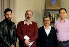 مشاور احمدی نژاد رابط آمدنیوز از آب درآمد