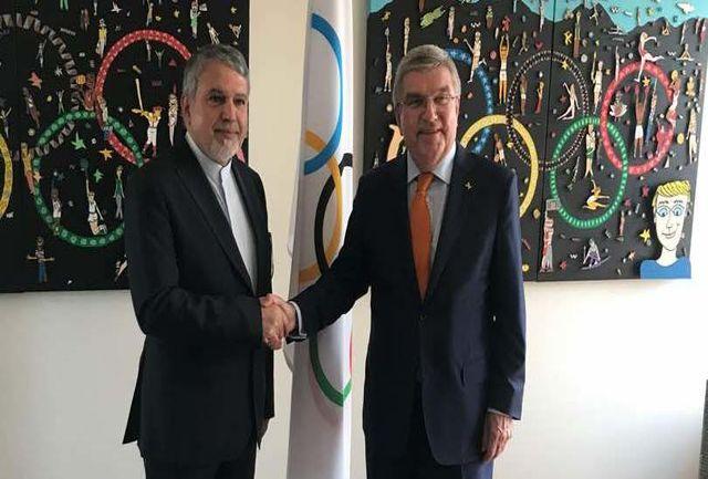 صالحی امیری با مسئولین بخش بازیهای المپیک، دپارتمان ورزش و ارتباطات سازمانی دیدار کرد