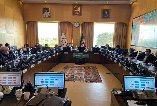 نشست صمیمانه معاون امور تعاون وزارت کار با اعضای کمیسیونهای اجتماعی و اقتصادی مجلس