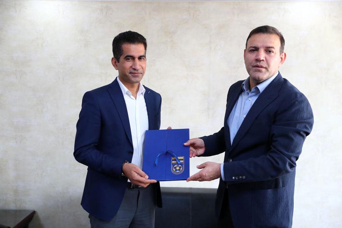 نشست رئیس و سرپرست جدید دبیرکلی فدراسیون فوتبال برگزار شد