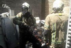 آتش سوزی گسترده در لاله زار