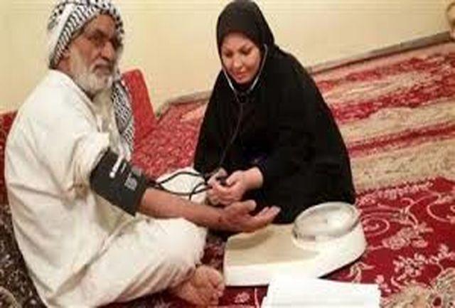 مراقبت بهداشتی از ۱۴۰۰ سالمند در منزل توسط مرکز بهداشت آبادان