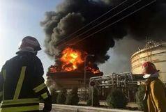انفجار و آتشسوزی در پتروشیمی بندرامام