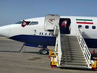 پرواز تیم فولاد خوزستان از اهواز به مقصد ریاض عربستان