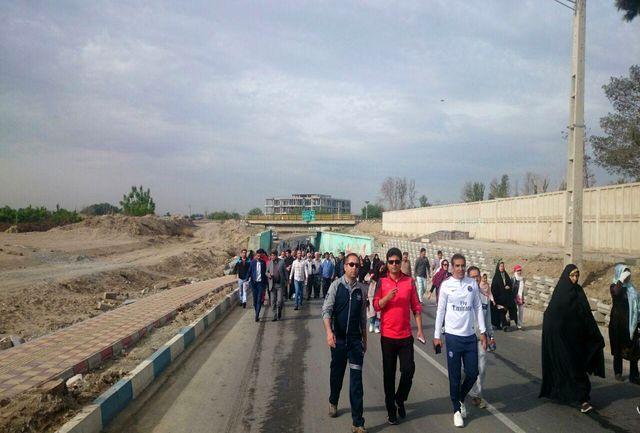 همایش پیادهروی هفته مبارزه با مواد مخدر در ارومیه برگزار می شود
