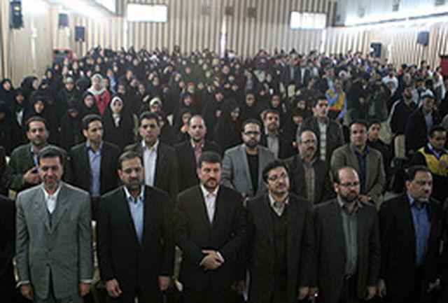 مراسم افتتاحیه اعزام سراسری اردوهای راهیان نور آغاز به کار کرد