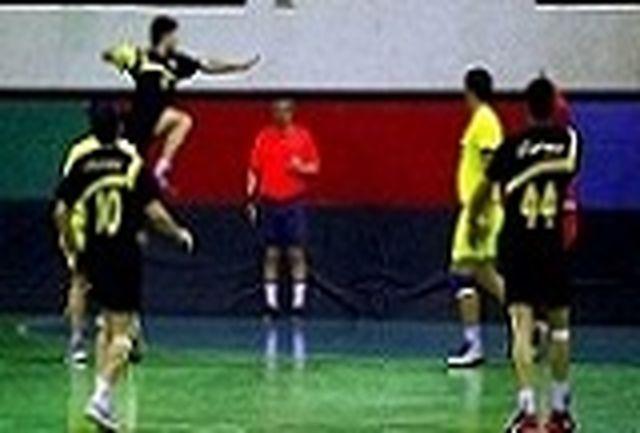 پیروزی تیم هندبال هپکو اراک بر کاسپین قزوین