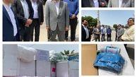 اهدای بیش از دو میلیارد ریال اقلام بهداشتی به ستاد پیشگیری از کرونا توسط منطقه آزاد قشم