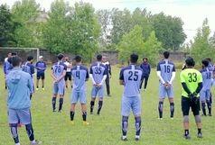 تمرینات تیم فوتبال ملوان بندرانزلی آغاز شد