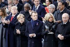 اقدام جنجالبرانگیز دیگری از دونالدترامپ در پاریس