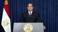 السیسی حضور غیرقانونی نیروهای خارجی در سوریه را محکوم کرد