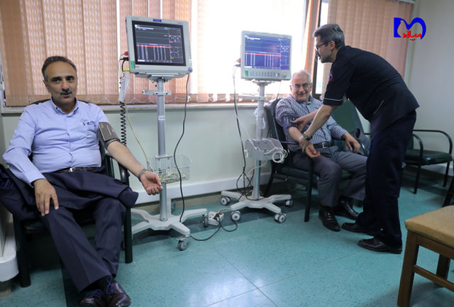 اجرای بسیج ملی کنترل فشار خون با 50 ایستگاه در بیمارستان میلاد