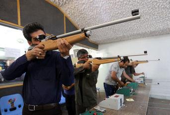 مسابقات تیراندازی خبرنگاران در شیراز