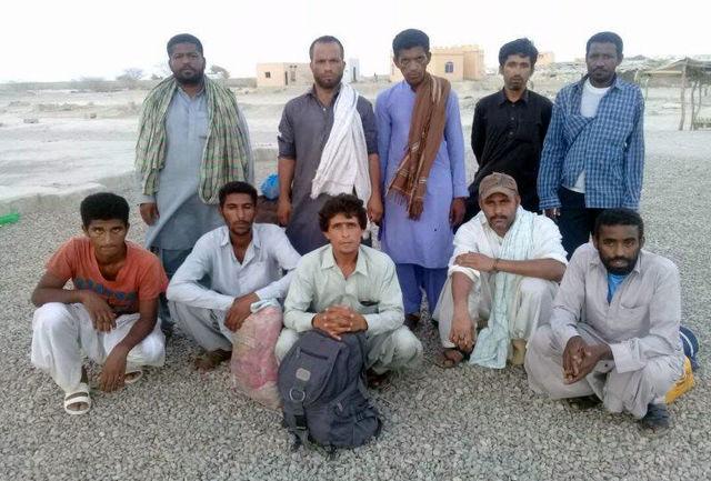 بازگشت 10صیاد نجات یافته در آبهای پاکستان به ایران