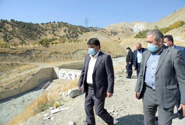 ۱۹۵ هزار متر طول مسیلهای شمال تهران لایروبی شدند