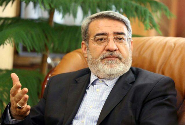 سردار جلالی از وزیر کشور تقدیر کرد