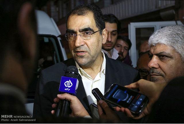 حضور وزیر بهداشت در برنامه «متن، حاشیه»