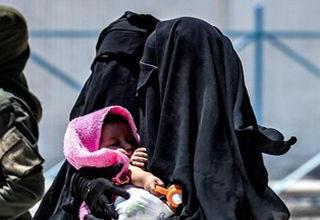 حرفهای درگوشی بیوههای داعش با تروریستزادهها که از آنها بمب ساعتی میسازد!