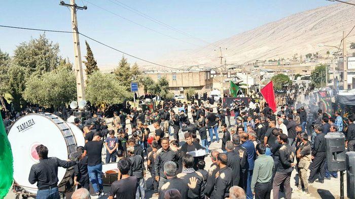 شور حسینی در لرستان / لرستان غرق ماتم عاشوراییان