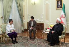 تهران از گسترش روابط با پنوم پن استقبال می کند