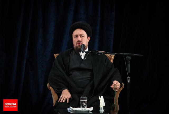 تسلیت سید حسن خمینی به سید محمد خاتمی