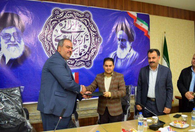 رئیس هیئت ورزشی جانبازان و معلولین منطقه آزاد اروند معرفی شد