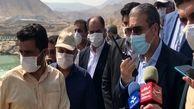 تونلهای انحراف آب سد دالکی در دشتستان به بهرهبرداری رسید