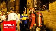 تجمع بازماندگان افراد کشته شده در محل حادثه انفجار+فیلم