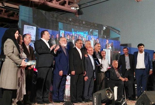 مراسم تجلیل از قهرمانان و پیشکسوتان تنیس روی میز استان تهران برگزار شد