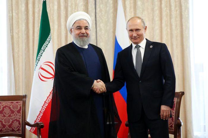 درخواست پوتین از روحانی در مورد برجام